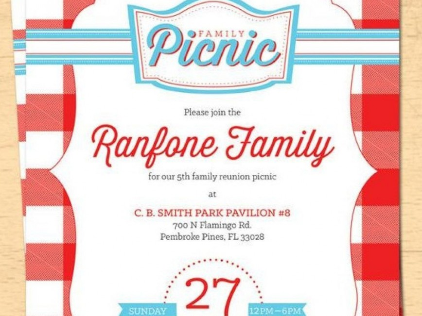 003 Incredible Free Family Reunion Flyer Template Word Photo