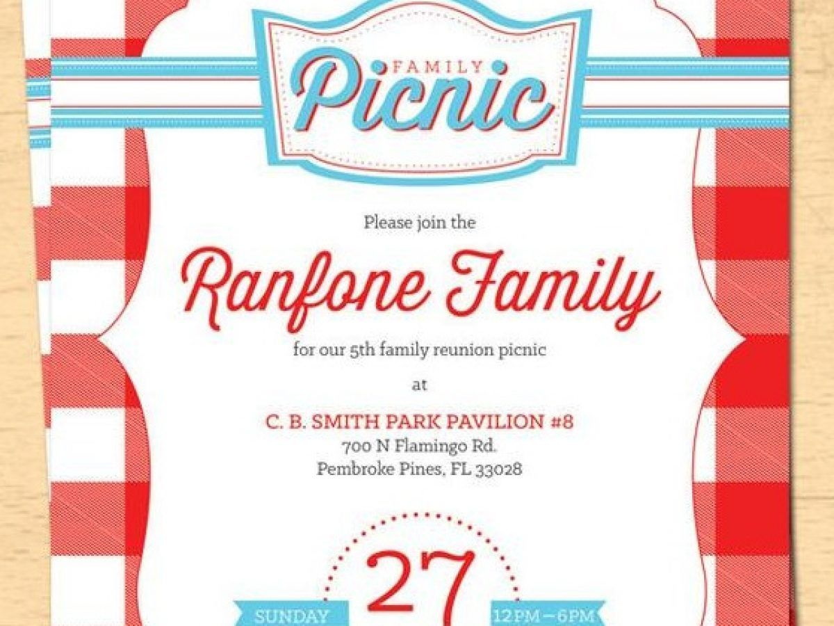 003 Incredible Free Family Reunion Flyer Template Word Photo Full