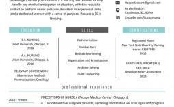 003 Incredible Graduate Nurse Resume Template Photo  Student Free New Practitioner Grad