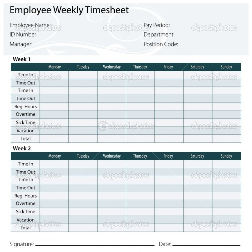 003 Incredible Monthly Timesheet Excel Template Example  Multiple Employee Semi