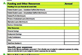 003 Incredible Sample Line Item Budget Template Example