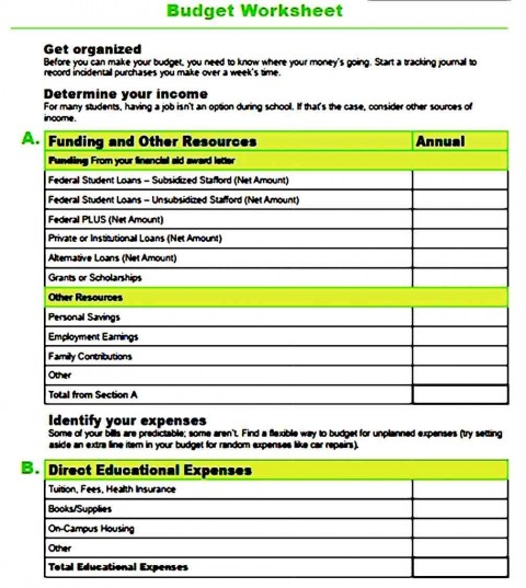 003 Incredible Sample Line Item Budget Template Example 480