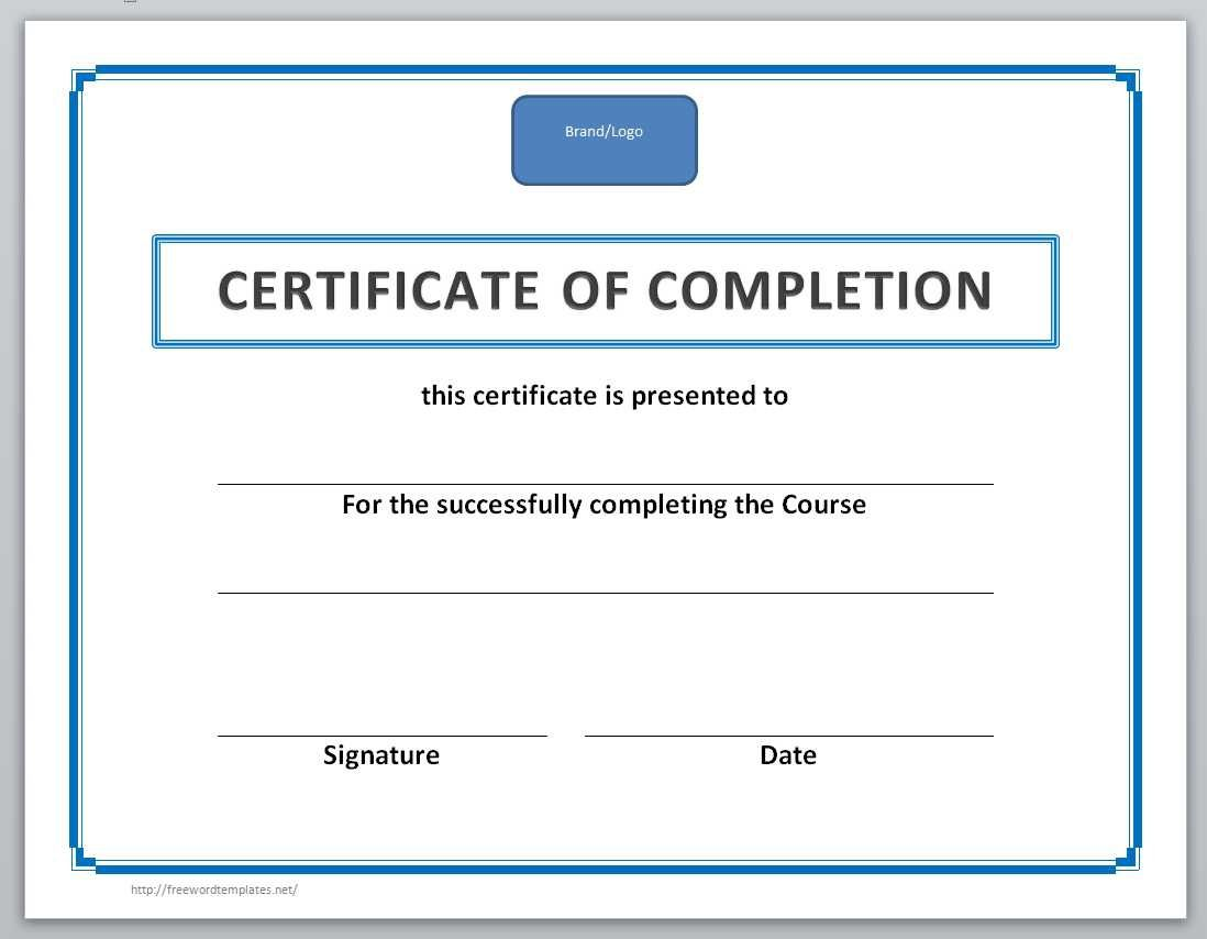 003 Incredible Training Certificate Template Free Image  Computer Download Golf Course Gift WordFull