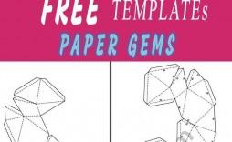 003 Magnificent 3d Paper Art Template Inspiration  Templates Pdf