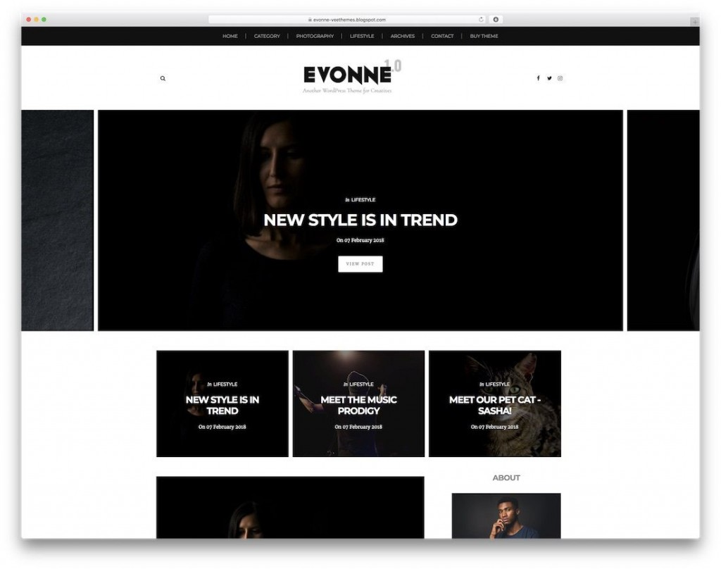 003 Magnificent Best Free Responsive Blogger Template 2019 Inspiration Large