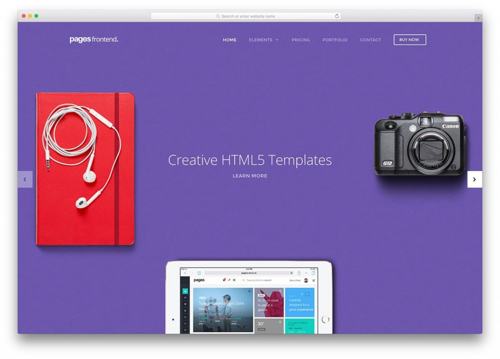 003 Magnificent Download Web Template Html5 Inspiration  Photography Website Free Logistic BusinesLarge