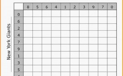 003 Magnificent Football Square Template Excel High Resolution  Printable Pool