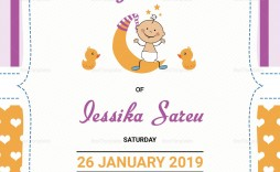 003 Magnificent Free Baby Shower Card Template For Word Design