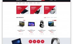 003 Magnificent Free Ecommerce Website Template High Definition  With Shopping Cart Admin Panel Bootstrap