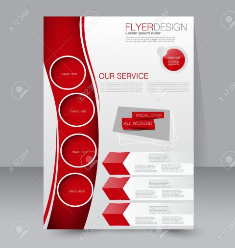 003 Magnificent Free Editable Flyer Template Image  Busines Fundraising480