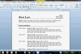003 Magnificent How To Create A Resume Template In Word 2007 Sample  Make Cv On Microsoft