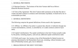 003 Magnificent Joint Venture Agreement Template Free South Africa Highest Quality  Download
