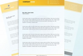 003 Magnificent Letterhead Template Free Download Cdr Design