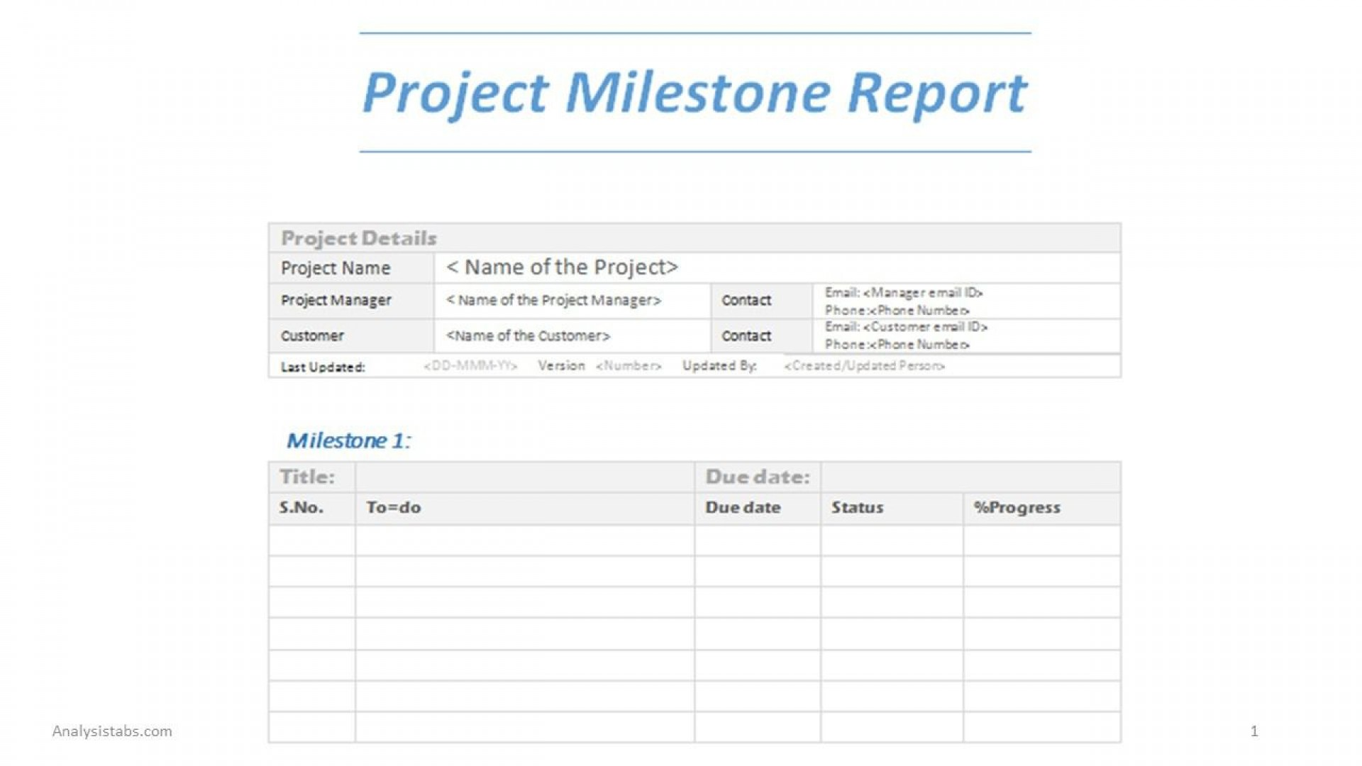 003 Magnificent Project Management Statu Report Template Word Design  Free1920