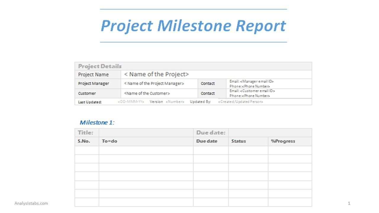 003 Magnificent Project Management Statu Report Template Word Design  FreeFull