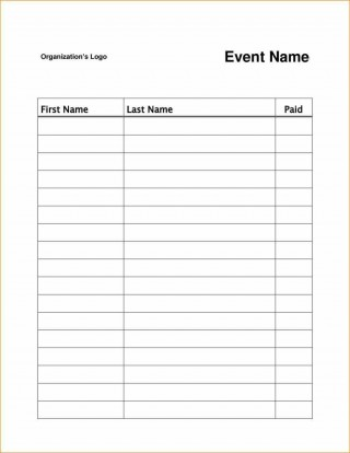 003 Magnificent Sign Up Sheet Template High Resolution  Volunteer In Word Work320