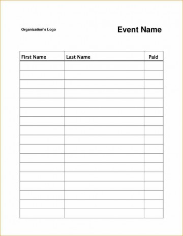 003 Magnificent Sign Up Sheet Template High Resolution  Volunteer In Word Work360
