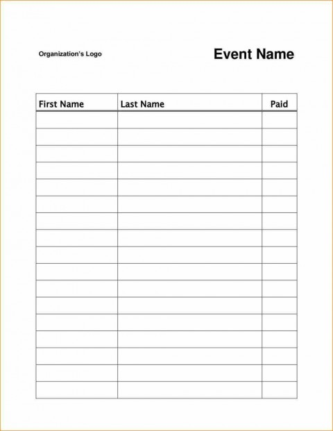 003 Magnificent Sign Up Sheet Template High Resolution  Volunteer In Word Work480