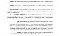 003 Magnificent Snow Removal Contract Word Doc Sample