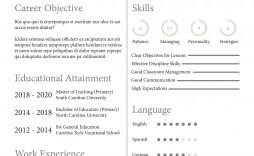 003 Magnificent Teacher Resume Sample Free Download Highest Quality  Cv