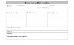 003 Magnificent Template For Lesson Plan Concept  Plans Pdf High School Sample