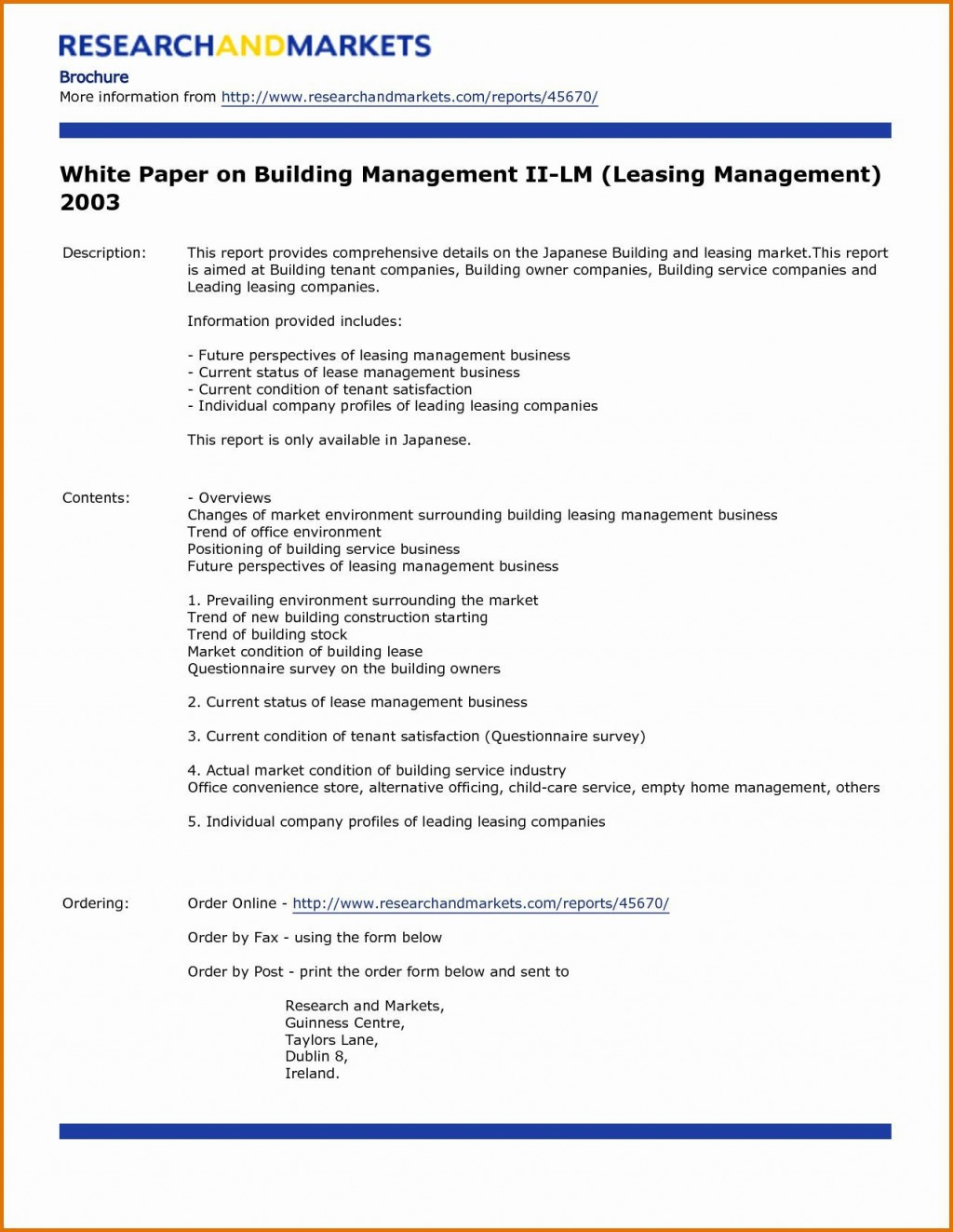 003 Magnificent White Paper Outline Sample Example Large