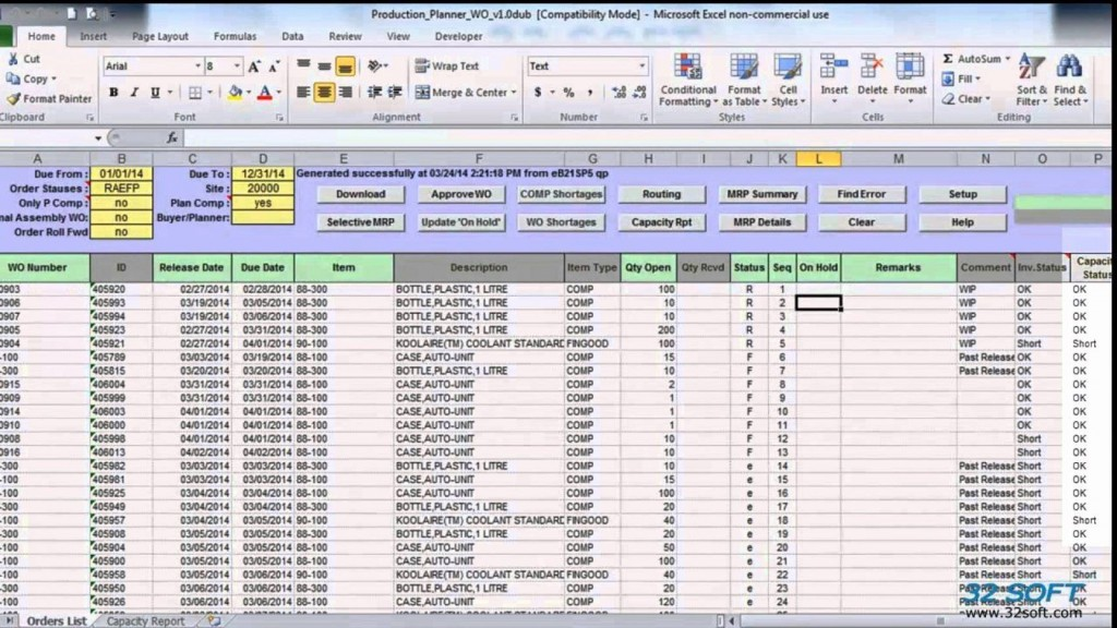 003 Marvelou Excel Work Order Tracking Template Inspiration  Construction MicrosoftLarge