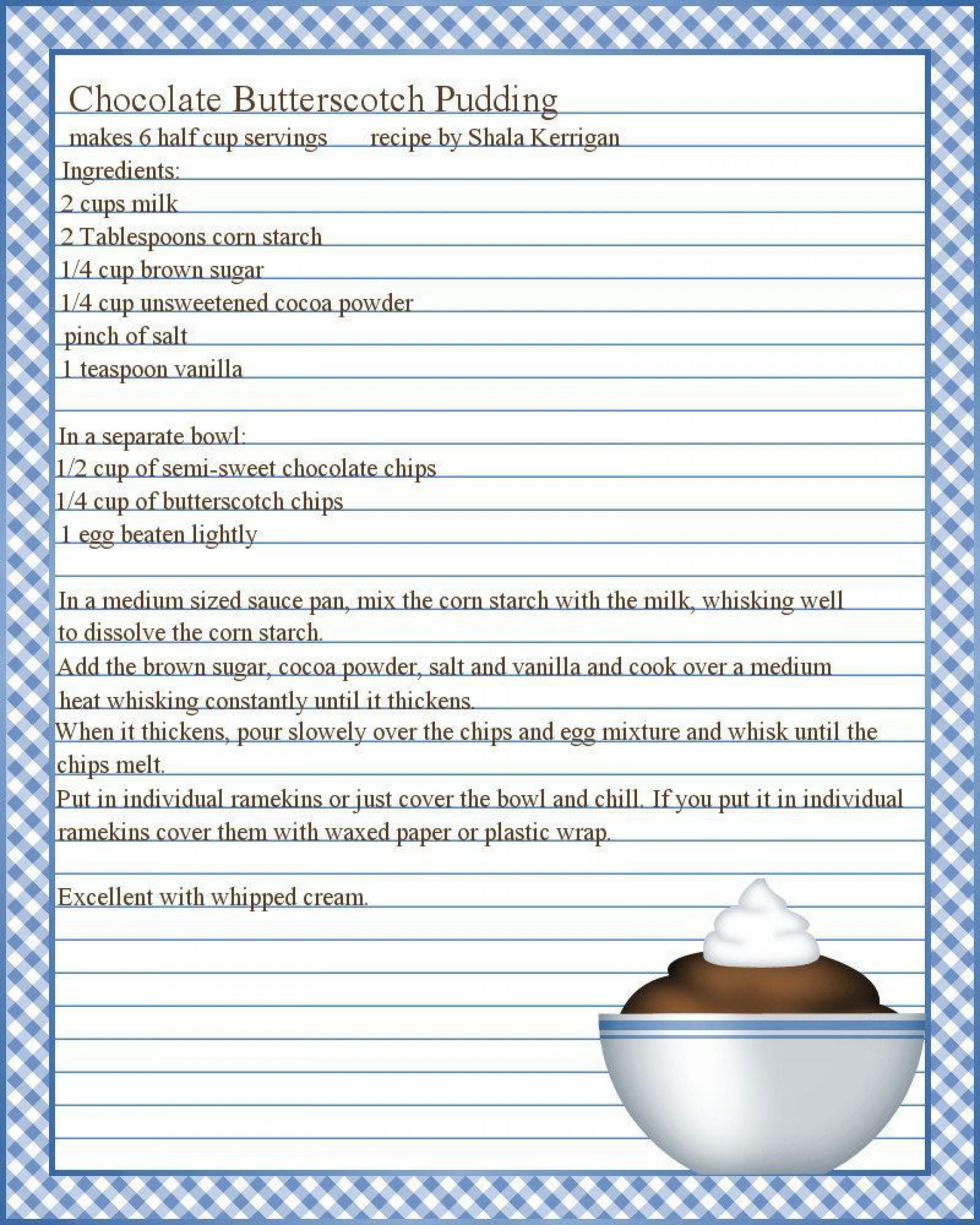 003 Marvelou Free Recipe Template For Word Image  Book Editable Card Microsoft 4x6 Page1920