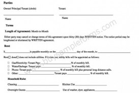 003 Marvelou Free Rental Agreement Template Word High Resolution  South Africa House Lease Doc