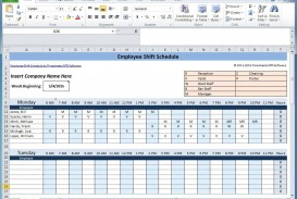 003 Marvelou Free Rotating Staff Shift Schedule Excel Template High Resolution