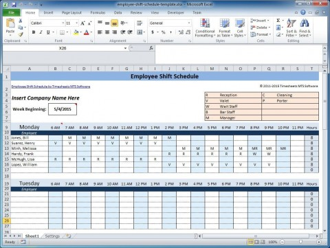 003 Marvelou Free Rotating Staff Shift Schedule Excel Template High Resolution 480