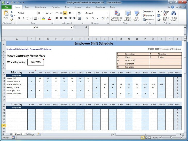 003 Marvelou Free Rotating Staff Shift Schedule Excel Template High Resolution 728