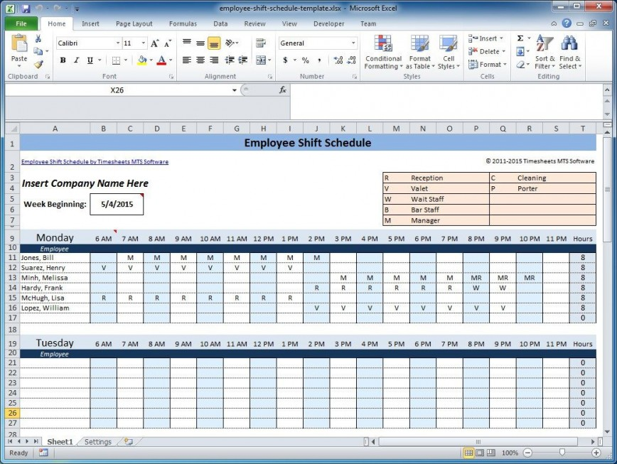 003 Marvelou Free Rotating Staff Shift Schedule Excel Template High Resolution 868