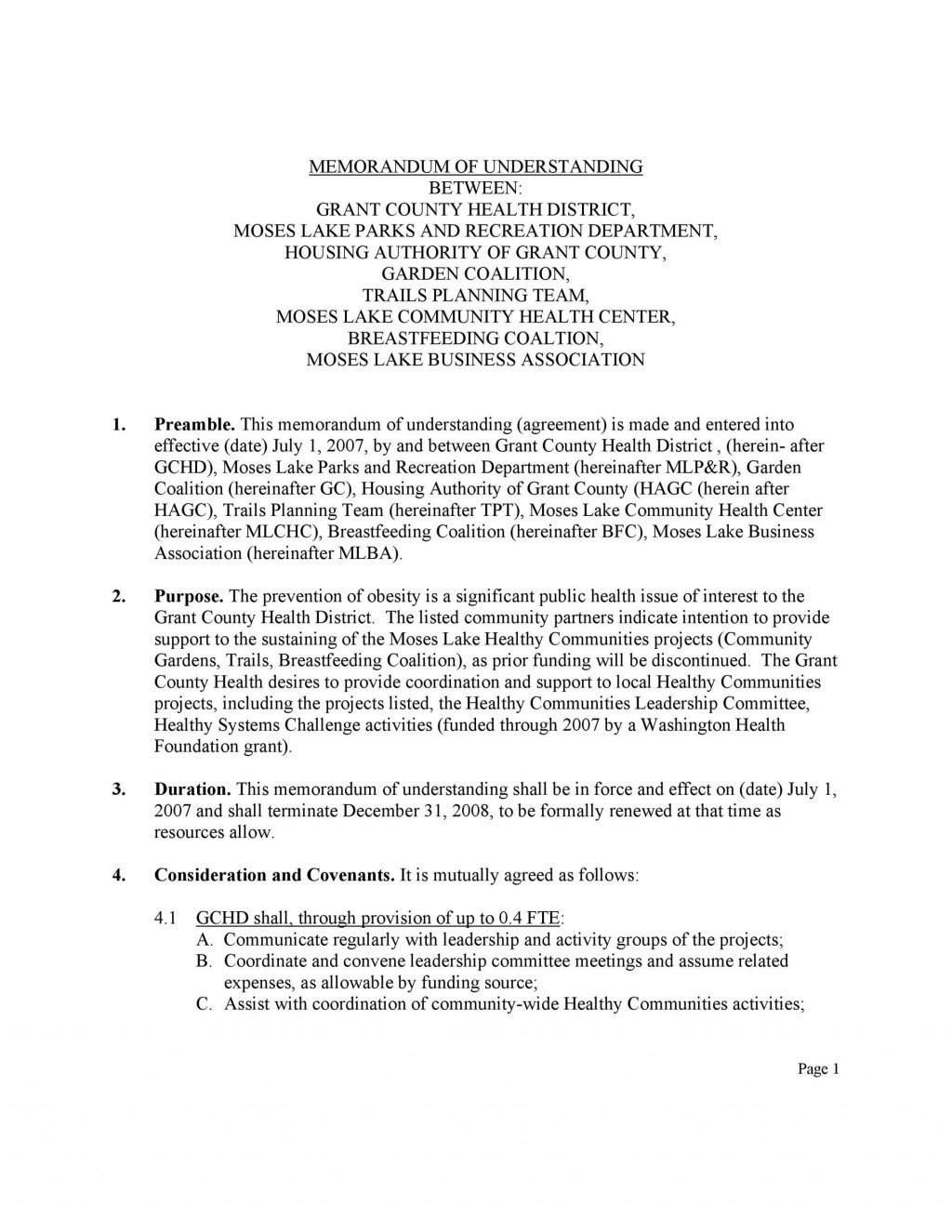 003 Marvelou Letter Of Understanding Sample Format High Resolution Large