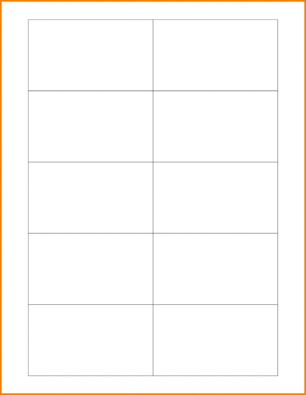 003 Marvelou Plain Busines Card Template Photo  White Free Download Blank Printable Word 2010Large