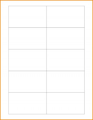 003 Marvelou Plain Busines Card Template Photo  White Free Download Blank Printable Word 2010320