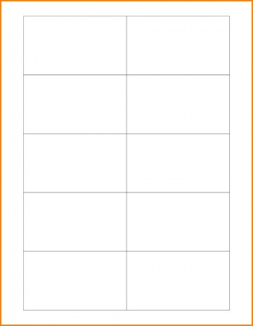 003 Marvelou Plain Busines Card Template Photo  White Free Download Blank Printable Word 2010360