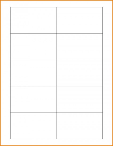 003 Marvelou Plain Busines Card Template Photo  White Free Download Blank Printable Word 2010480