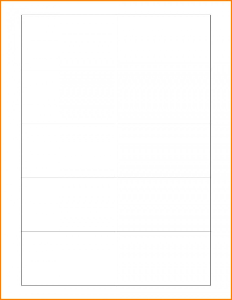 003 Marvelou Plain Busines Card Template Photo  White Free Download Blank Printable Word 2010960