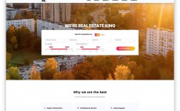 003 Marvelou Real Estate Agent Website Template High Resolution  Templates Agency Responsive Free Download Company Web
