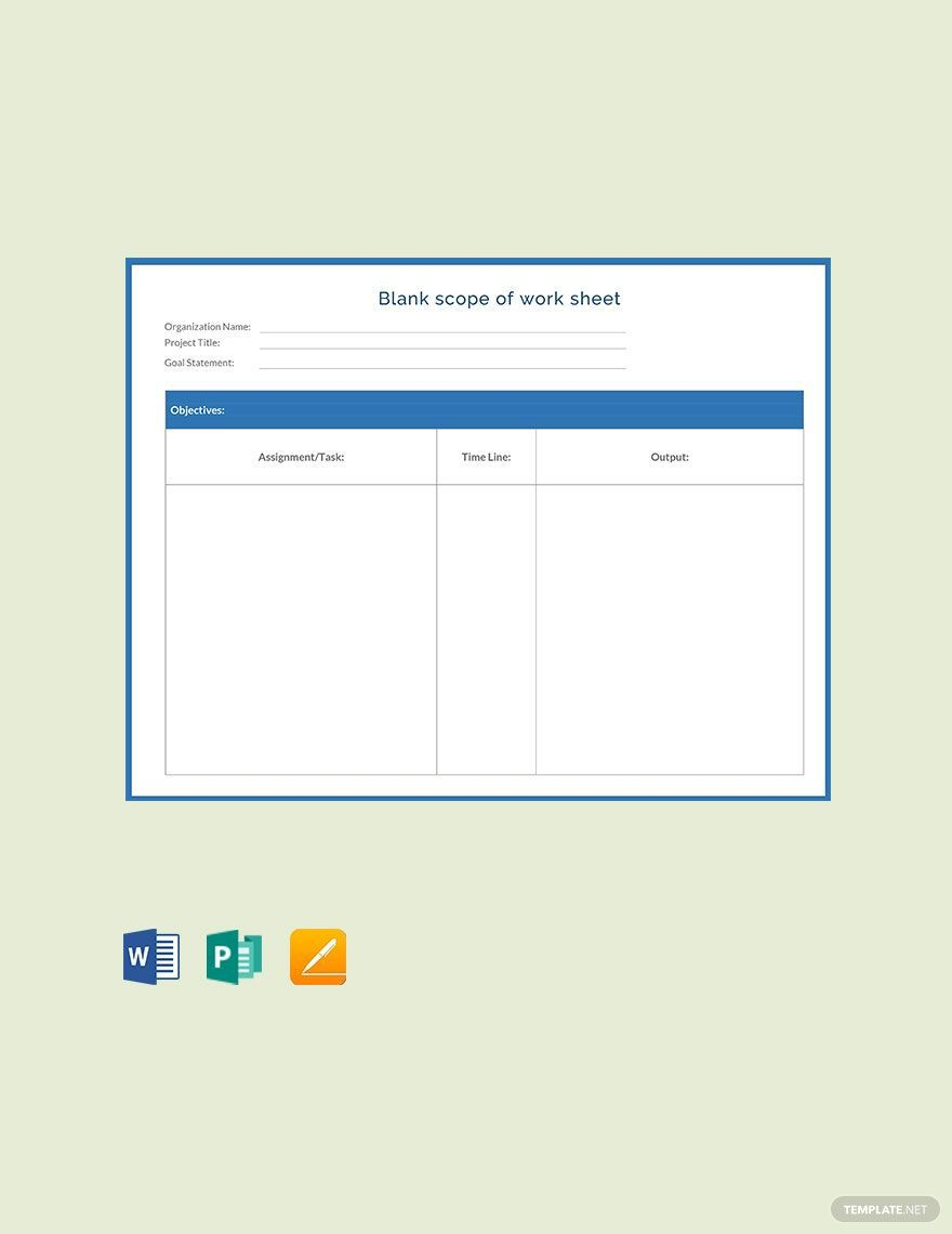 003 Marvelou Scope Of Work Template Microsoft Word Example Full