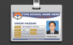 003 Marvelou Student Id Card Template Concept  Identity Psd Free Download Word
