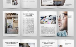 003 Outstanding Free Magazine Article Layout Template For Word Idea