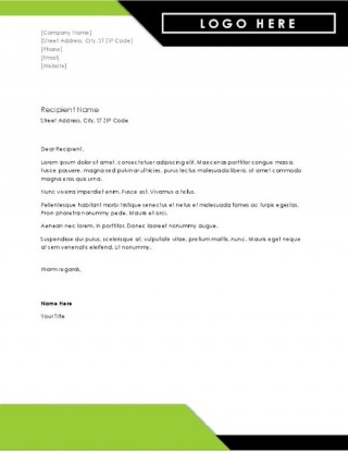 003 Outstanding Letterhead Template Free Download Word Concept  Microsoft Format In Personal Red320