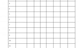 003 Outstanding Little League Lineup Card Template High Definition  Baseball