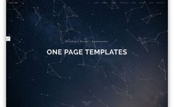003 Outstanding One Page Website Template Html5 Responsive Free Download Concept