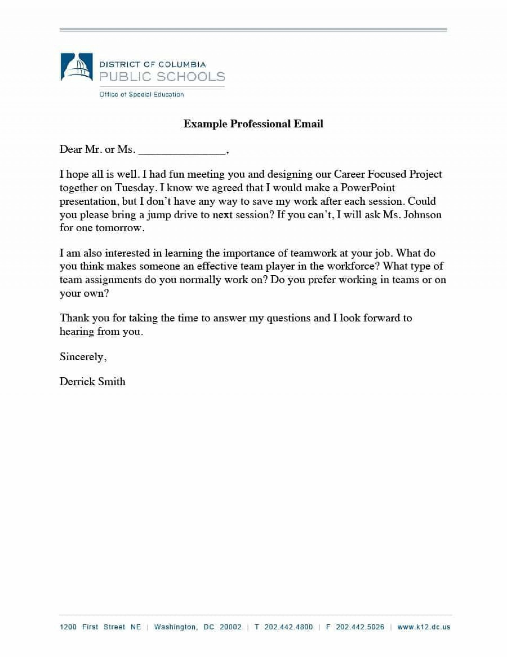 003 Outstanding Professional E Mail Template Design  Templates Email For Job Application Busines Signature Example Customer Service1920