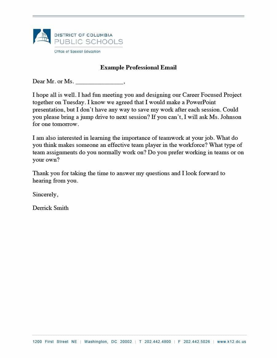 003 Outstanding Professional E Mail Template Design  Templates Email For Job Application Busines Signature Example Customer ServiceFull