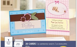 003 Outstanding Quarter Fold Greeting Card Template Free Image