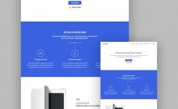 003 Outstanding Responsive Landing Page Template Concept  Free Html With Flexbox Html5